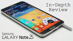 LIKE NEW SAMSUNG GALAXY NOTE 3 UNLOCKED + 3 MONTHS WARRANTY