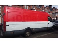 house removal service van &man Reliable&friendly.delivry,collection.run for dump.from £15singl item