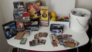 Toys, Collectable cards, Board games, Mcdonalds..etc