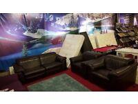 ex display natuzzi sensor recliner 3 piece suite