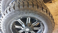 FRD OFFROAD HD  Rims / Gladiator HD Rubber Brand NEW