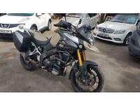 Suzuki DL 1000.15 reg,side panniers,hand gaurds,crash bars,screen,2 owners.