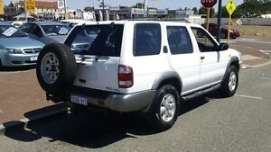 2000 Nissan Pathfinder WX II ST White 4 Speed Automatic Wagon Victoria Park Victoria Park Area Preview