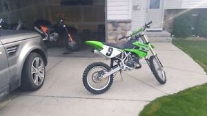 2009 KX 100 - RARELY RIDDEN AND IN BRAND NEW CONDITION