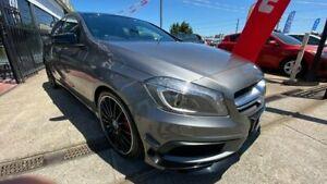 2014 Mercedes-Benz A-Class W176 A45 AMG SPEEDSHIFT DCT 4MATIC Grey 7 Speed Maidstone Maribyrnong Area Preview