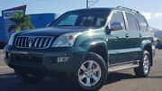 2004 Toyota Landcruiser Prado GRJ120R Grande Green 5 Speed Automatic Wagon Bungalow Cairns City Preview