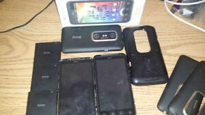 HTC Evo 3D and 3 batteries