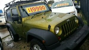 2007 Jeep Wrangler  Gold Manual Softtop Dandenong Greater Dandenong Preview