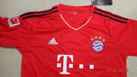 Robben Bayern Munich Home Soccer Jersey current season