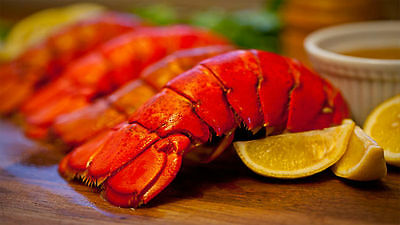 Get Maine Lobster - 10 Maine Lobster Tails (4-5oz each) w/ FREE SHIPPING