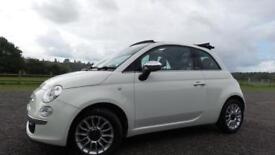2012 62 FIAT 500 1.2 C LOUNGE DUALOGIC 3D AUTO 69 BHP