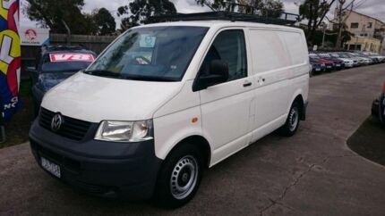 2004 Volkswagen Transporter T4 Syncro SWB (4x4) White 5 Speed Manual 4x4 Van Maidstone Maribyrnong Area Preview