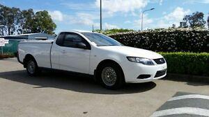 2010 Ford Falcon FG Ute Super Cab Winter White 4 Speed Automatic Utility Acacia Ridge Brisbane South West Preview
