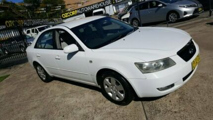 2007 Hyundai Sonata NF SLX White 5 Speed Sequential Auto Sedan Homebush Strathfield Area Preview