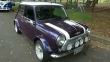 1997 Rover Mini WIDEBODY Cooper Purple Manual Coupe Burwood Burwood Area Preview