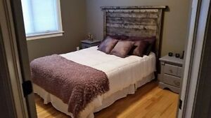 RUSTIC HEADBOARDS ( WILL TRADE FOR RECORDS ) PRICING IN ADD
