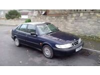1997 Saab 900S 2.0 non turbo long MOT CHEAP to clear