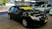 2013 Holden Cruze JH Series II MY13 CD Black Auto Sports Mode Hatchback Five Dock Canada Bay Area Preview
