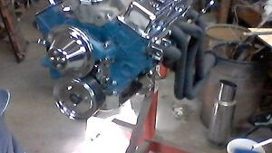 350 Chev Engine  (30  over)