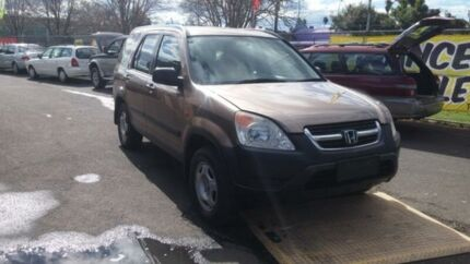 2003 Honda CR-V MY04 (4x4) Gold  Wagon Woodbine Campbelltown Area Preview