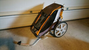 Thule Chariot Cheetah 1 with bike attachment