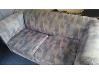 Double sofa bed + single chair FREE IF COLLECTED