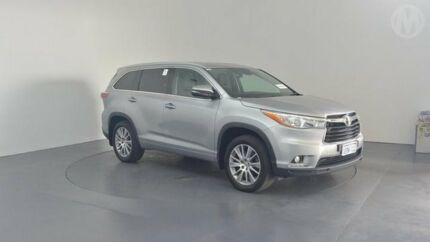 2014 Toyota Kluger GSU50R Grande 2WD Silver Sky 6 Speed Sports Automatic Wagon Perth Airport Belmont Area Preview