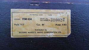 Rogers Phono/Radio Majestic RM 604 Kitchener / Waterloo Kitchener Area image 3