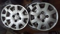 "4 enjoliveurs 14"" Nissan"