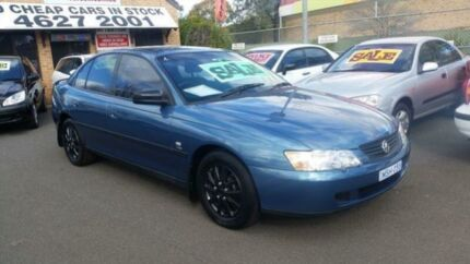 2004 Holden Commodore Vyii Executive Blue 4 Speed Automatic Sedan Woodbine Campbelltown Area Preview