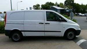 2010 Mercedes-Benz Vito 639 MY10 111CDI Low Roof Comp White 6 Speed Manual Van Acacia Ridge Brisbane South West Preview