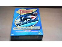 THUNDERBIRDS-THE COMPLETE SERIES DVD BOX SET - 8 DVD'S & SOUNDTRACK CD