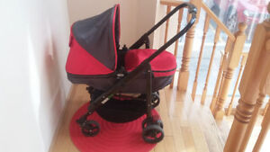Guzzie and guss bassinet stroller 50 o.b.o