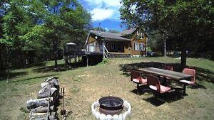 Rainbow Lake Log Home