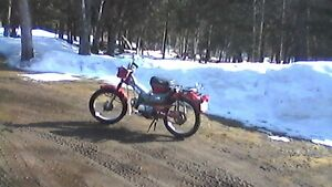 honda  90  trail bike