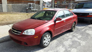 2006 Chevrolet Optra Sedan