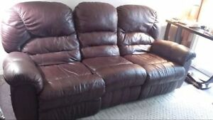 SOFA  INCLINABLE (3 PLACES) PALISSER