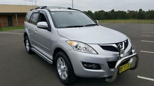 2011 Great Wall X240 CC6461KY MY11 (4x4) Silver 5 Speed Manual Wagon Revesby Bankstown Area Preview