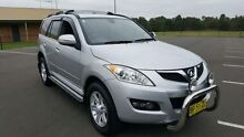 2011 Great Wall X240 CC6461KY MY11 (4x4) Silver 5 Speed Manual Wagon Condell Park Bankstown Area Preview