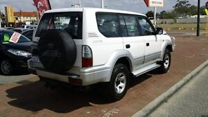 2000 Toyota Landcruiser Prado VZJ95R GXL White 4 Speed Automatic Wagon Victoria Park Victoria Park Area Preview