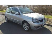 2007 57 Renault Clio Campus Sport 1.1cc. Phase 4. *MOT 26.07.17* DRIVE AWAY BARGAIN