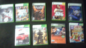 XBOX 360 + Kinect/9 games