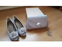 Jacques Vert Rosebed Trim shoes and bag