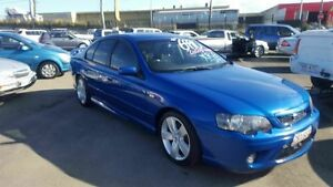 2007 Ford Falcon BF MkII 07 Upgrade XR6 Blue 6 Speed Auto Seq Sportshift Sedan Coopers Plains Brisbane South West Preview