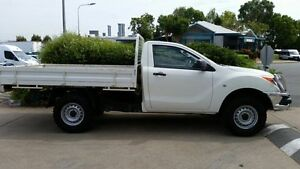 2013 Mazda BT-50 UP0YF1 XT White 6 Speed Manual Cab Chassis Acacia Ridge Brisbane South West Preview