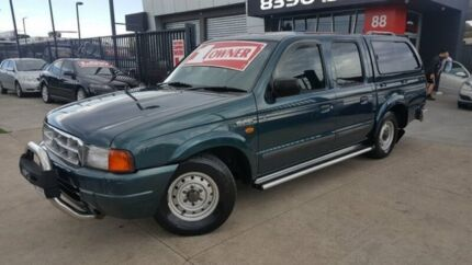 2000 Ford Courier PE XL 4 Speed Automatic Crew Cab Pickup