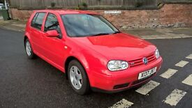 VOLKSWAGEN GOLF 2.0 GTi (red) 2000