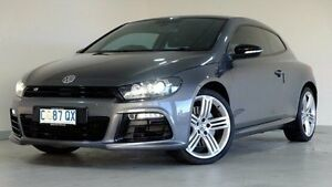 2012 Volkswagen Scirocco 1S MY12 R Coupe DSG Grey 6 Speed Sports Automatic Dual Clutch Hatchback Hobart CBD Hobart City Preview