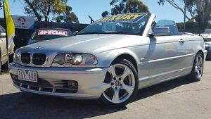 2002 BMW 330CI E46 Silver 5 Speed Auto Steptronic Convertible Maidstone Maribyrnong Area Preview