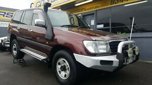 2002 Toyota Landcruiser HDJ100R GXL (4x4) Red Mica 4 Speed Automatic 4x4 Wagon Medindie Walkerville Area Preview